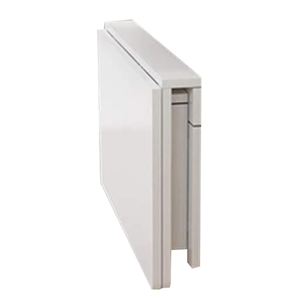 GEXING-Tables Klapptisch Multifunktion An Der Wand Montiert Laptop-Tisch Bahnhof Balkon Wohnzimmer Einfach Und Modern Kiefer Weiß 10 Größen,60 * 40cm