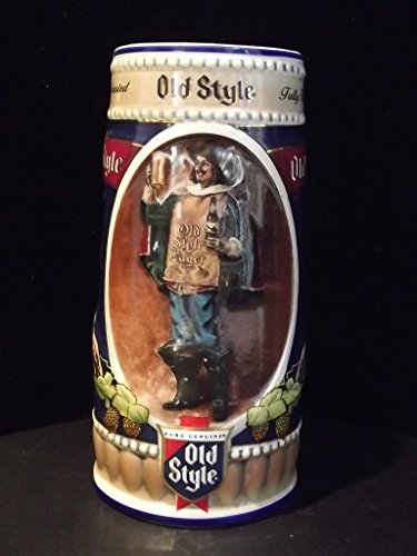 - Musketeer Advertising - Old Style Lager Stein - 1990