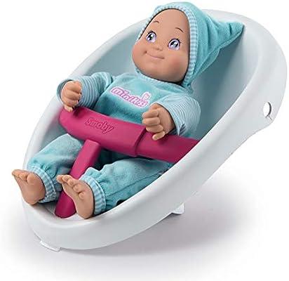 Smoby 210205 Minikiss - Carrito de bebé 3 en 1 (Silla de ...