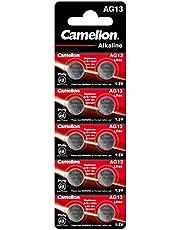 Batterie Knopfzelle 10 Stück LR44 Camelion Plus