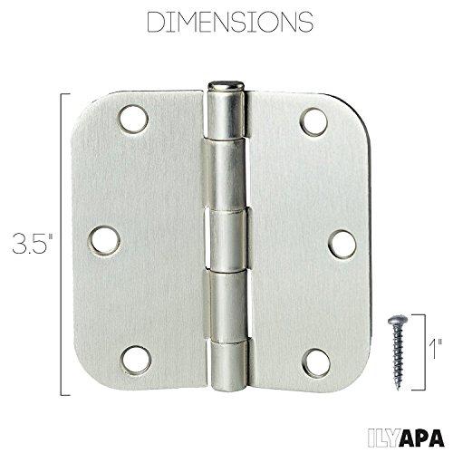door knobs interior nickel - 9
