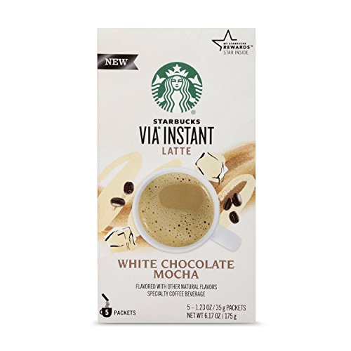 Starbucks VIA Instant White Chocolate Mocha Latte (1 box of 5 packets) ()
