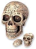 cendrier crâne tribal pm avec couvercle