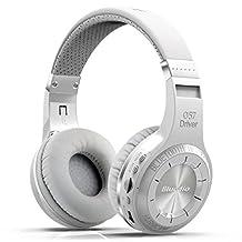 HOT Eagle Bluedio H+ Turbine Hurricane Bluetooth Wireless Stereo Over-ear Headphone Earphone Headset with Micro Sd Card Fm Radio (White)
