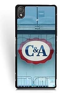 Sony Xperia Z3 Funda Case, C&A Logo Sony Xperia Z3 Funda Case Snap-on Phone Cover