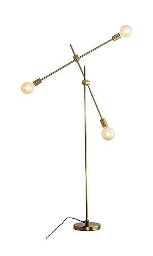 Amazon.com: JLHOUSE JLUS018 Lámpara de pie de latón moderno ...