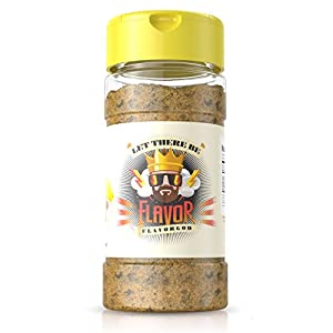 Flavor God #1 Best-Selling, Lemon Garlic Seasoning, 1 Bottle, 5 oz