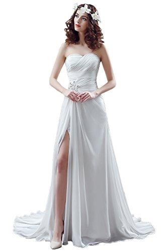 TOSKANA BRAUT - Vestido - trapecio - para mujer Blanc - Weiss2581