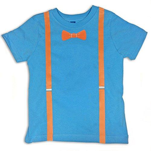 Blippi Replica Shirt, Blippi Blue, 4T