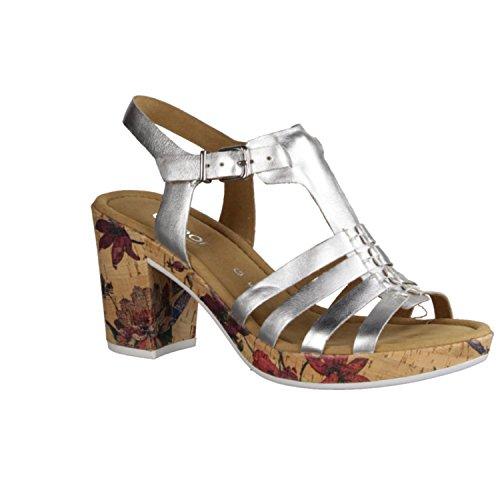 Gabor Women's 62.783.90 Fashion Sandals Grey Grey Silber wh6aj