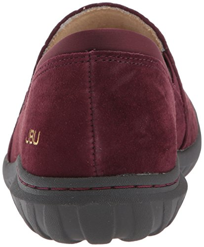 JBU by Jambu Womens Cherry Hill Flat Wine ulC6RHjF