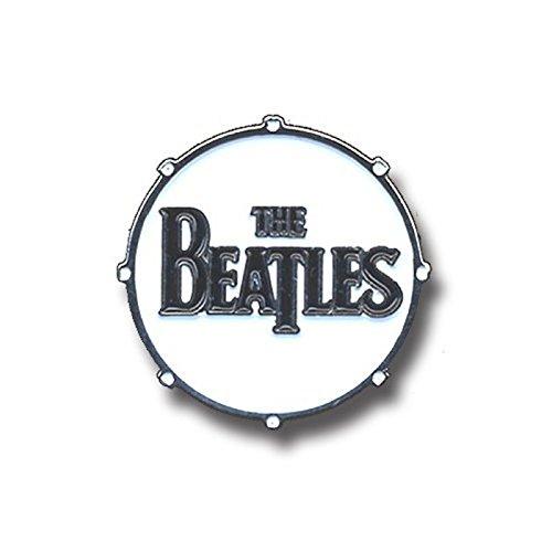The Beatles Badge Drum Drop T Classic Band Logo Official Lapel Pin Metal