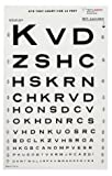 5914451 Eye Chart-snellen 10ft 14x9 Ea Tech-Med Services, Inc -3062