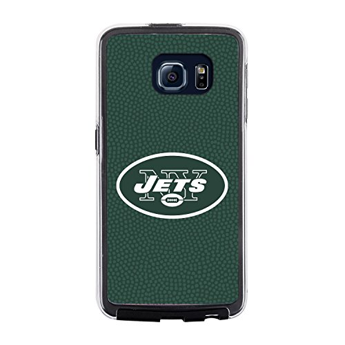 NFL York Jets Football Pebble Grain Feel No Wordmark Samsung Galaxy S6 Case, Team Color from Game Wear, Inc.