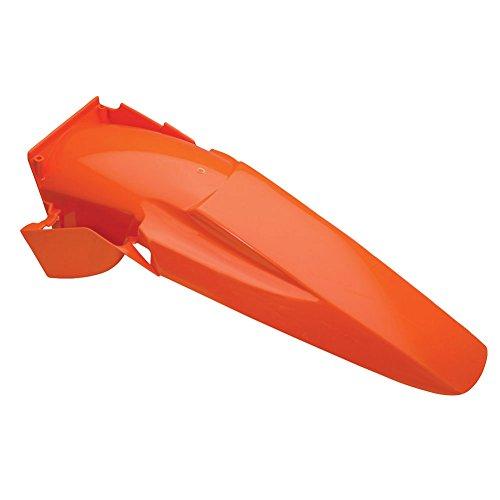 Acerbis Rear Fender KTM Orange - Fits: KTM 200 EXC 1998-2003
