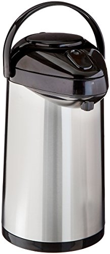 Service Ideas SSA250 SteelVac Airpot, Stainless Vacuum, 2.5 L by Service Ideas