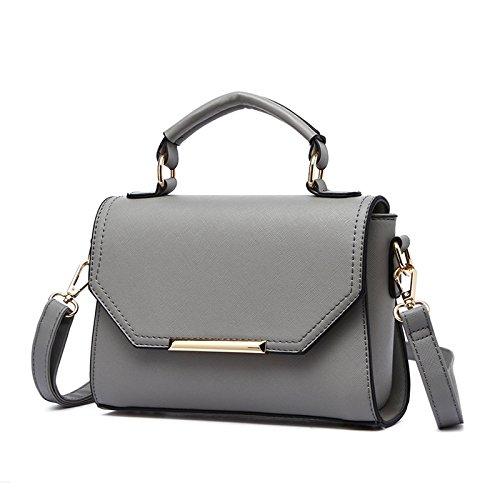 Las Bolso Satchel ash Fashion GUANGMING77 pattern Handbag Alumnas Bolso cross Solo Ash Niñas gAdE4q
