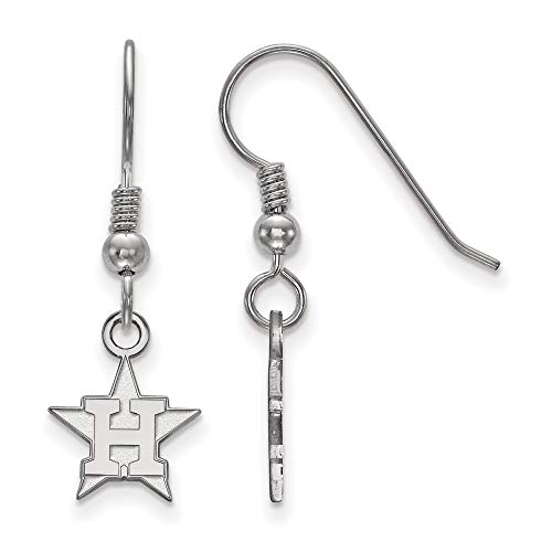 Houston Astros Logo Dangle Earrings (Sterling Silver)
