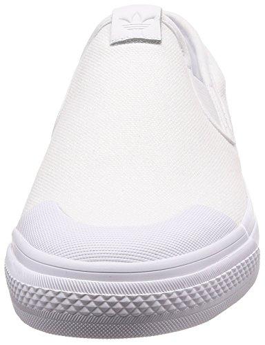 Slipon de Blanco Nizza Mujer Blanco Zapatillas para adidas W 000 Deporte BqA5WI8
