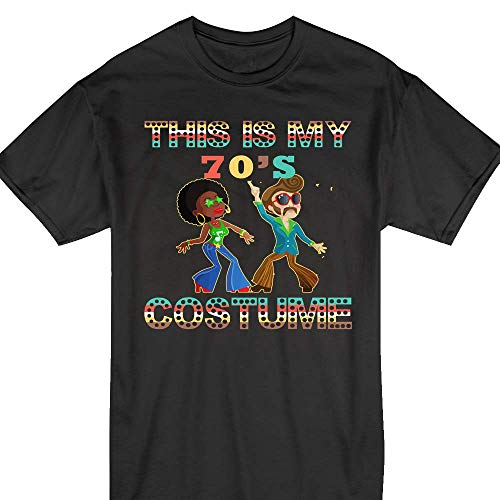 This-Is-My-70s-Costume 1970s-Seventies Retro Disco Dancing Customized Handmade T-shirt Hoodie/Sweater / Long Sleeve/Tank Top/Premium T-shirt