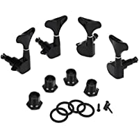 PIXNOR Pcs L Guitar Bass Tuning Pegs Machine Heads Tuners Black