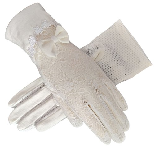 vintage white gloves - 3