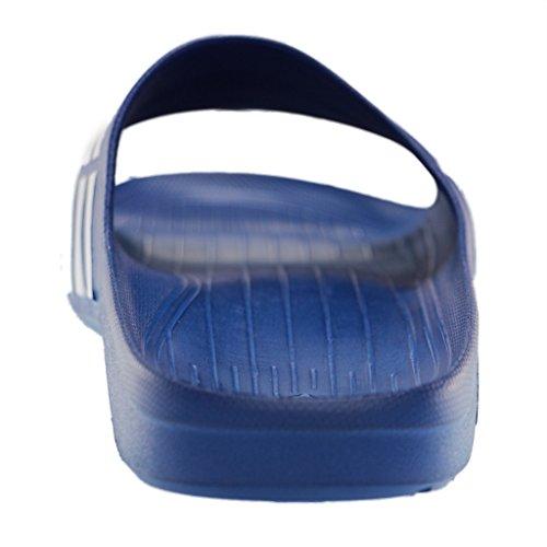 adidas Duramo Slide - Chanclas unisex true blue / white / true blue