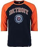 Detroit Tigers MLB Mens Don't Judge 3/4 Sleeve Raglan Shirt size 2XT