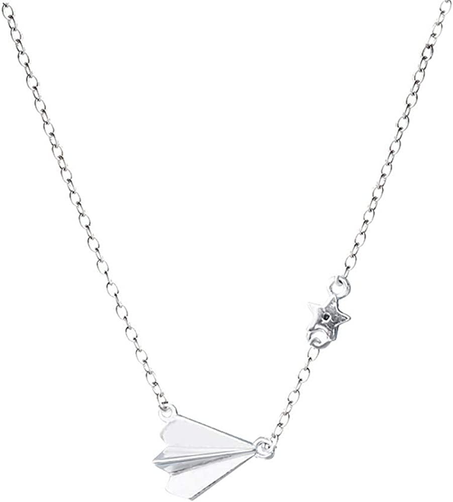 Dana Carrie Women jewelry S925 sterling silver necklace jewelry creative clavicle chain necklace