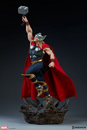 Sideshow Marvel Comics Avengers Assemble God of Thunder Thor 1/5 Scale Statue