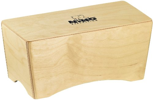Nino Percussion NINO931 Bongo Cajon, Natural Finish