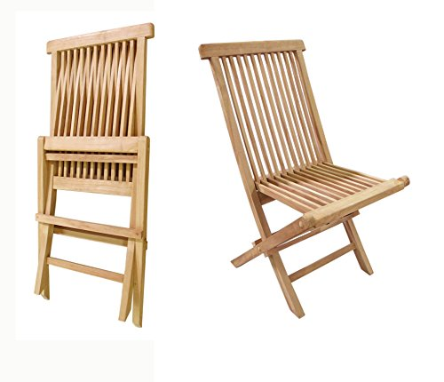 Crestwood Collection (Garden of Eve Collection Teak Crestwood Folding Chair (set of 2 chairs))