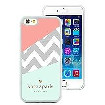 iPhone 6 4.7 inch Kate Spade 108 White TPU Phone Case Genuine and Handmade Design