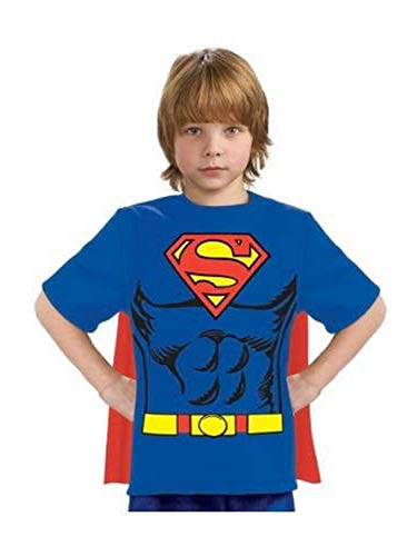 Justice League Child's Superman 100% Cotton T-Shirt - -