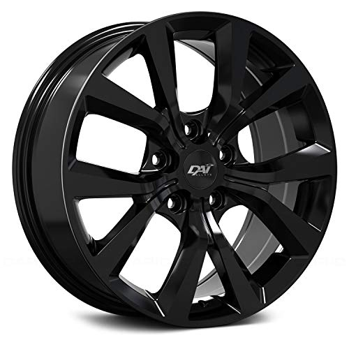 DAI Alloys Mission Custom Wheel - DW107 Series Gloss Black Rims - 17