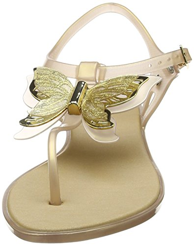 Melissa Solar Butterfly - Zapatos Mujer Gold (Soft Gold)