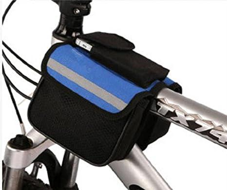 Montaje de equipos de silla de montar alforjas para bicicletas ...