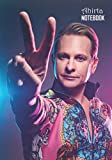 Notebook: Carson Kressley Medium College Ruled Notebook 129 pages Lined 7 x 10 in (17.78 x 25.4 cm)