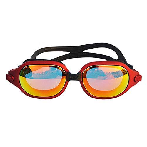 Anti HD Gafas WFFH UV Niebla Impermeable Y Chapado Orange PC De Gafas Espejo Protección Natación Blue De X0w01