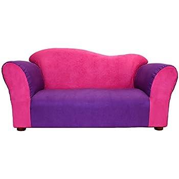 Charming KEET Wave Kidu0027s Sofa, Pink/Purple