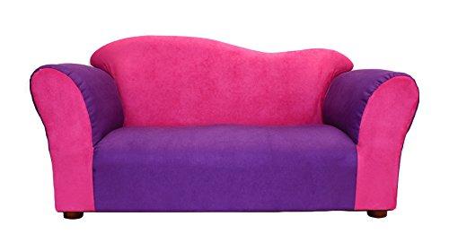 KEET Wave Kid's Sofa, Pink/Purple by Keet
