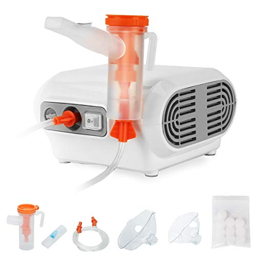Tangxia Traditional Jet Nebulizer, Home Nebulizer Machine Personal Steam Atomizer for Kids and Elderly, Portable…