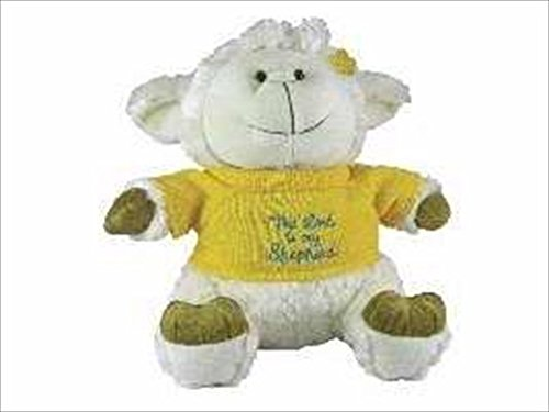swanson-christian-supply-61318-toy-plush-lamb-with-sweater-lord-is-my-shepherd-95-in