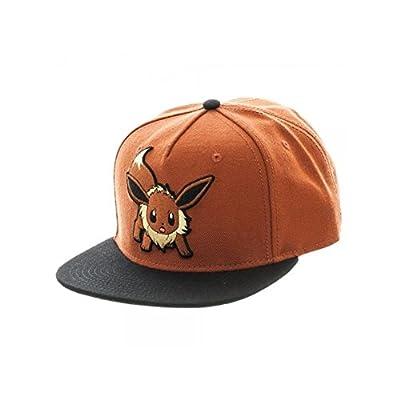 Superheroes Brand Pokemon Eevee Color Block Snapback Hat/Cap