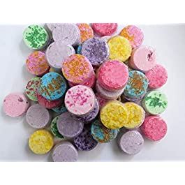 6 Mini Bath Bombs, 60mg Hemp Extract, 10mg each, 6 Handmade Bath Bombs, Essential Oils Aromatherapy, Help Reduce Anxiety…