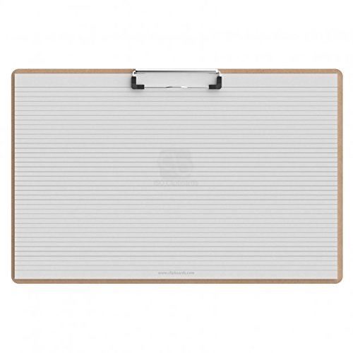 Horizontal Ledger 17 x 11 MDF Clipboard