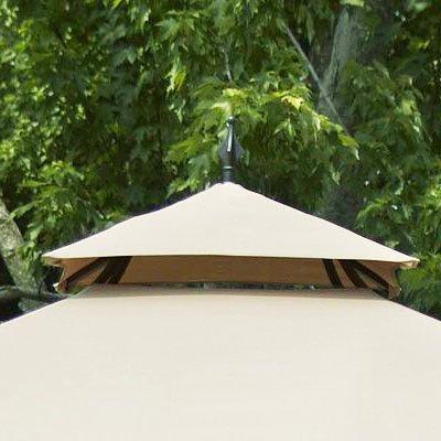 garden winds replacement canopy for laketon gazebo riplock
