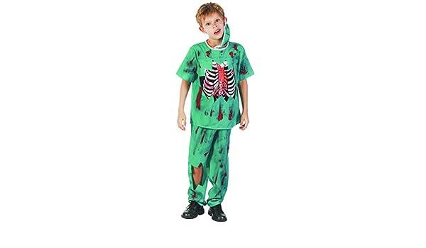 Generique - Disfraz de Doctor Zombie niño S 4-6 años (110-120 cm ...