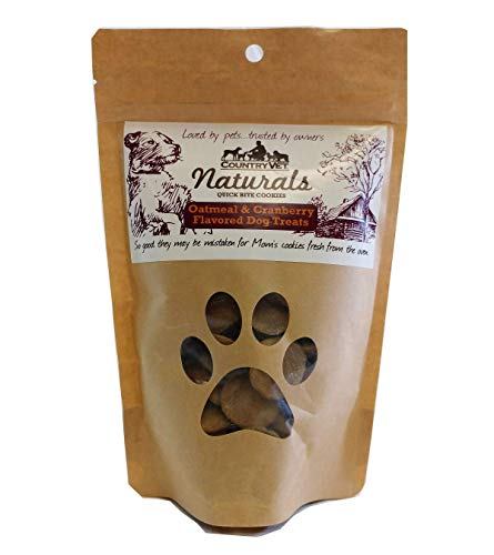 (Country Vet Naturals Oatmeal & Cranberry Quick Bite)