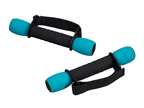 GetFit 1 Pound Walking Weights Comfortable/Easy Grip/Enhanced Cardio Workout